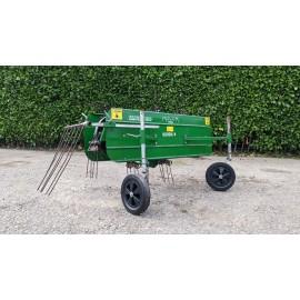 Molon Mini 120 Hay Rake Attachment For BCS Tractor