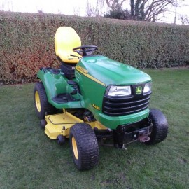 """2004 John Deere X495 Garden Tractor With 48"""" Rotary Deck"""