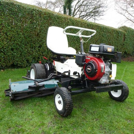 2003 Allen National 68 Triple Ride On Cylinder Mower